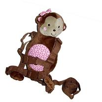 Carter's Child of Mine 2-in-1 Harness Buddy Bear with pink