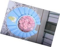 Cartoon children haircut cap infant bath cap,blue