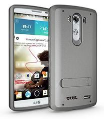 JOTO LG G3 Case - Hybrid Tri Layer Armor Cover Case with