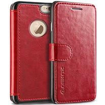 VRS Design  Premium Leather Folio Case Flip Wallet Cover