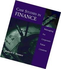Case Studies by Robert F Bruner - Darden Faculty