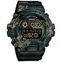 Ladies' Casio G-Shock S Series Green Floral Band Watch