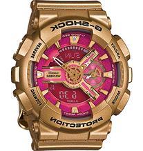 Ladies' Casio G-Shock S Series Pink Face Watch