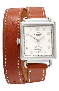 Shinola The Cass Leather Strap Watch