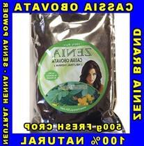 500g - Pure Cassia Obovata Neutral Henna senna ZENIA BRAND