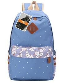 Leaper Casual Style Canvas Laptop Backpack/ School Bag/