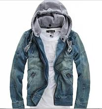 MINID men's casual fashion denim jacket