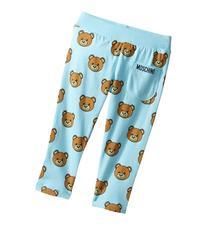 Moschino Kids - All Over Teddy Bear Print Pants   Boy's
