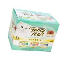 Fancy Cat Food Gourmet 3-Flavor Variety Pack 72OZ