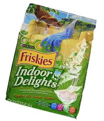 Friskies Dry Cat Food, Indoor Delights, 3.15-Pound bag, Pack