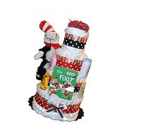 The Cat in the Hat Diaper Cake, Dr Seuss Diaper Cake, Thing