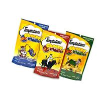 Temptations Cat Treats Cheezy Middles Variety Pack - 3