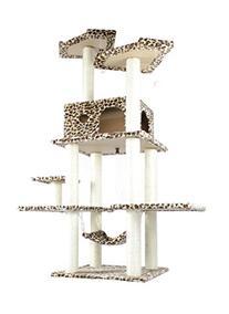 BestPet 11L Cat Tree Condo Furniture Scratch Post Pet House