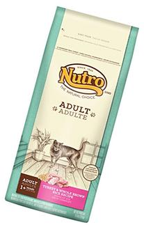 NUTRO Adult Cat Turkey and Whole Brown Rice Cat Food 6.5