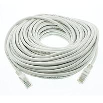 R-Tech RJ45 Cat5e Network Ethernet Cable - 60 Feet  - White