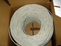 VideoSecu 500ft CAT5E Cable 4 Pair 24 AWG UTP WT Pure Copper