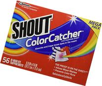 Shout Color Catcher Washer Dye Trapping Sheet,56 Count Mega