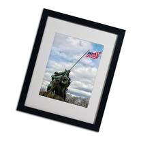 CATeyes 'Marine Corps Memorial 2' Framed Matted Art