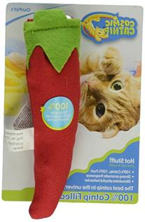 OurPets 100-Percent Catnip Filled Chili Pepper Cat Toy, Hot