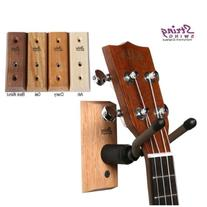 Ukulele Hanger Wooden Wall Mount Made in the USA or Mandolin