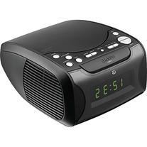 GPX CC314B Audio Alarm Clock with CD, AM/FM and USB