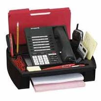 Compucessory Telephone Stand/Organizer, Black