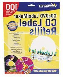Memorex CD/DVD White Labels