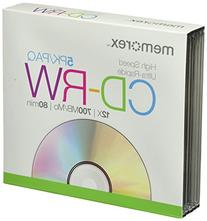 Memorex 8x-12x CD-RW Media