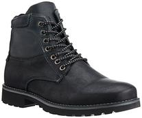 Steve Madden Men's Ceaderr Winter Boot, Black, 8 M US
