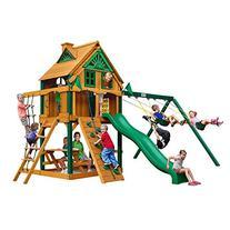 Cedar Chateau Treehouse Swing Set
