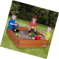 Cedar Wooden Sand Box, Brown