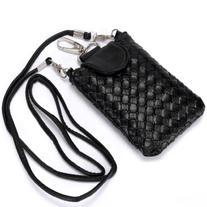 Rbenxia Cellphone Bag Woven Leather Crossbody Case Cover