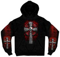 Hot Leathers Celtic Cross Pocket Hoodie