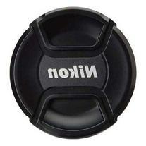 CowboyStudio 72mm Center Pinch Snap-on Lens Cap for Nikon