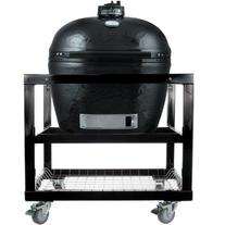 Primo Ceramic Charcoal Smoker Grill On Cart - Oval Xl