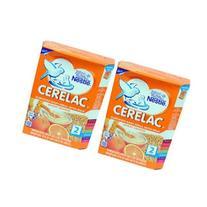 2 x Nestle Cerelac Wheat Orange - 8 Months