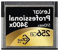 Lexar Professional 3400x 256GB CFast 2.0 Card  w/Image