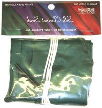 Hodge Silk Clarinet Swab, Green