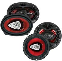 "BOSS CH6530 6.5"" 3 Way300w + 6x9"" CH6930 350W Car Coaxial"