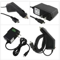 ChagerCity Exclusive Wall Charger AC Adapter and 12v Car