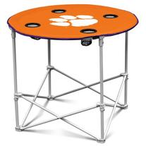 Logo Chair Clemson Tigers Round Table