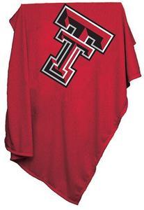 Logo Chair Texas Tech Red Raiders Sweatshirt Blanket by Logo