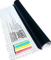 ChalkSeries Chalkboard Contact Paper Roll With 5 Colored