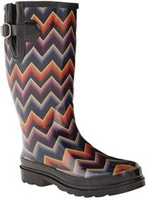 Blazin Roxx Women's Chandra Rain Boot Multi 6 US