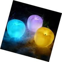 Domire Color Changing Christmas Decoration Night Light Apple