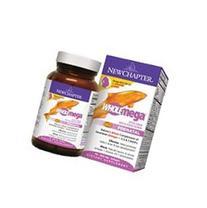 New Chapter Wholemega Prenatal -- 500 mg - 90 Softgels