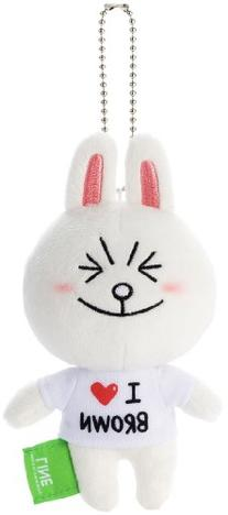 Line Character Cony Ball Chain Cell Phone Accessories