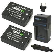Wasabi Power Battery  and Charger for for Kodak LB-070 and