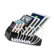 Charging Station, FLECK  8 USB Ports + 2 AC Outlets Multi-