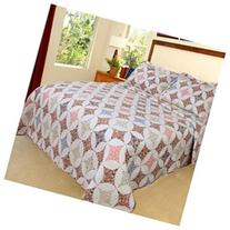 Lavish Home Charlotte Quilt 2 Piece Set - Twin